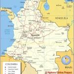 Карты Колумбии, полезные туристам и путешественникам